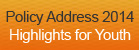 Highlights for Youth - Policy Address 2014