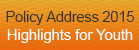 Highlights for Youth - Policy Address 2015