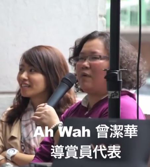 ah wah from wanchai community talk about wanchai tour by Hong Kong House