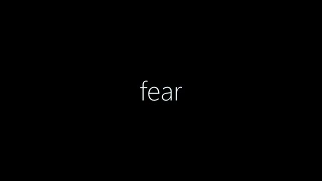 Fear or not?