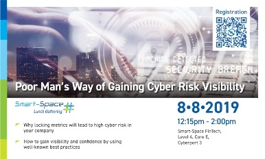 Smart-Space Lunch Gathering: Poor Man's Way of Gaining Cyber Risk Visibility