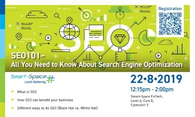 Smart-Space Lunch Gathering: SEO101 – All You Need to Know About Search Engine Optimization