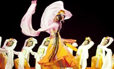 中国舞训练班