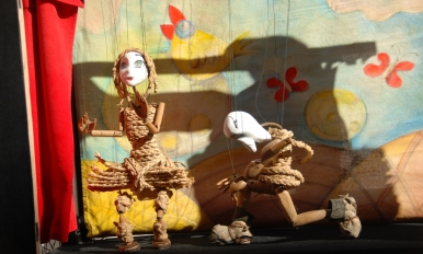 中国传统木偶表演 (演出团体:飞鹏木偶团)