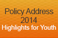 Policy Address 2014 - Highlights for Youth