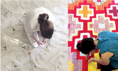 Re Rag Rug – Contemporary Rug Design by Studio Brieditis & Evans: Sweden 展覽
