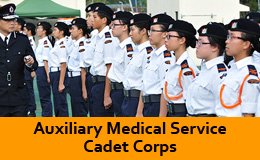 Auxiliary Medical Service Cadet Crops